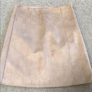 Babaton   Suede Mini Skirt